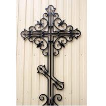 Кресты кованные